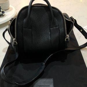 Alexander Wang Black Rockie Duffle Bag